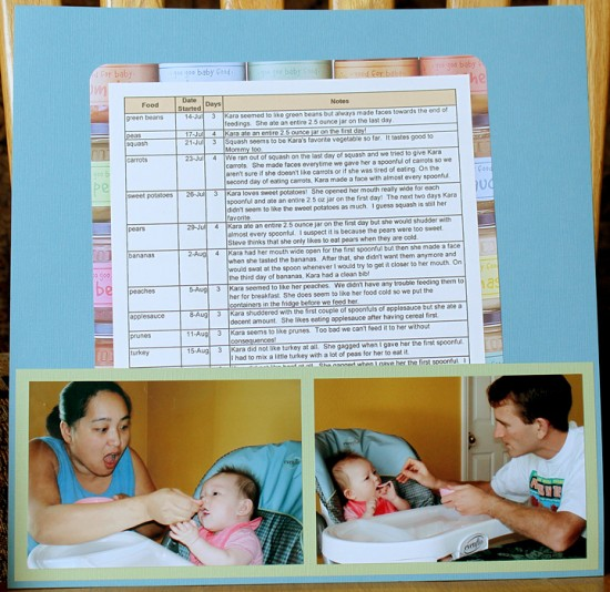 Photo and Scrapbooking Ideas For Baby's First Year by Simply Kelly Designs