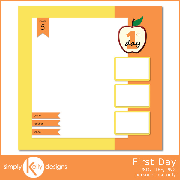 new release all star and first day templates simply kelly designs. Black Bedroom Furniture Sets. Home Design Ideas