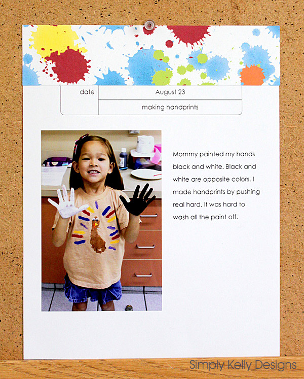 Personal Yearbook 2012 - 2013 » Simply Kelly Designs