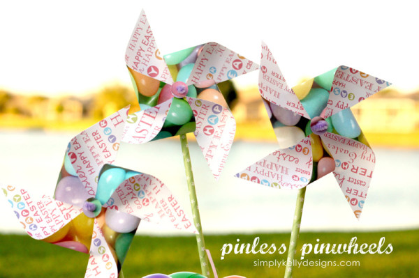 Pinless Pinwheels by Simply Kelly Designs
