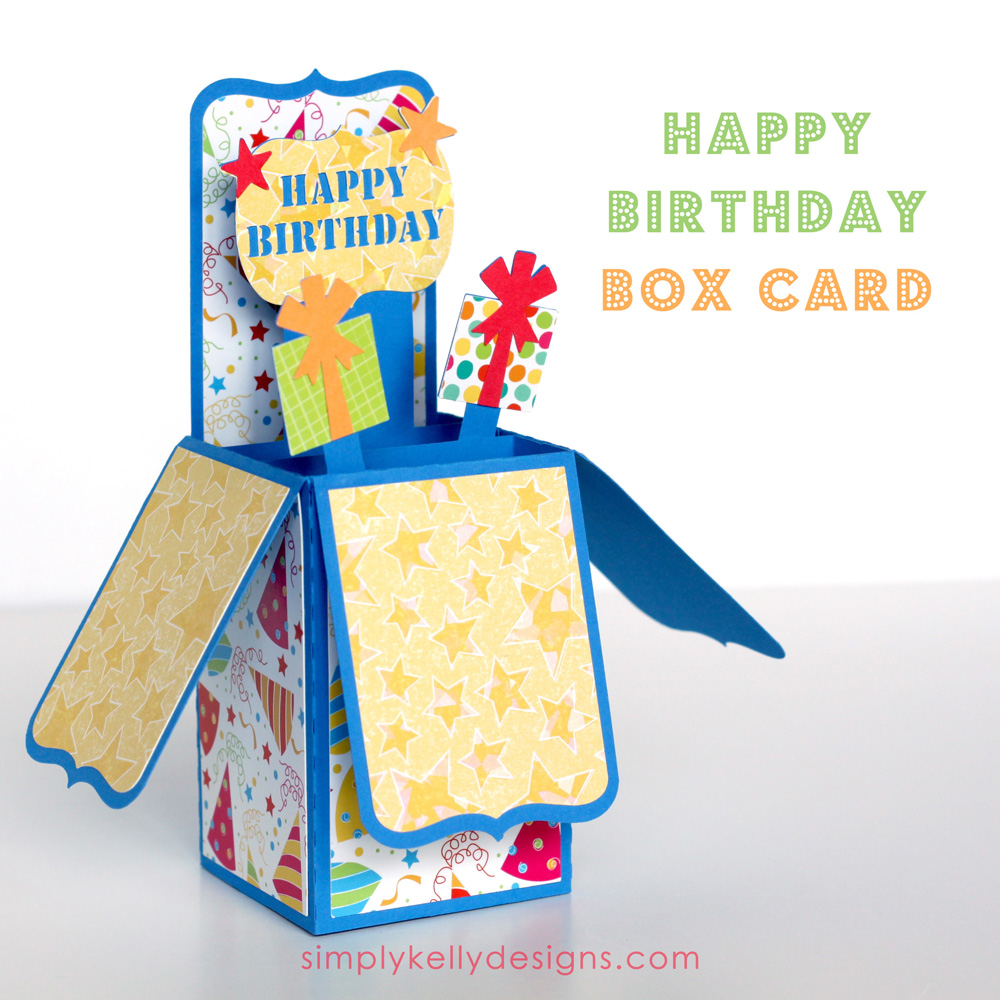 Happy Birthday Box Card Simply Kelly Designs – Box of Birthday Cards