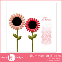 Summer In Bloom Template