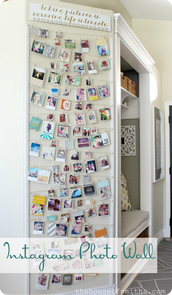 10 Creative Ways To Display Instagrams Or Square Photos