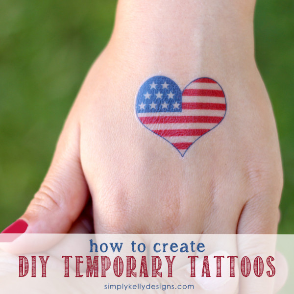how to create diy temporary tattoos simply kelly designs