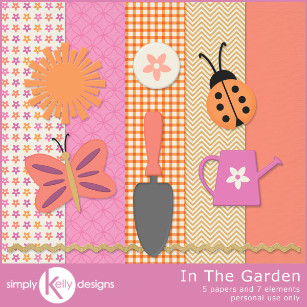 In the garden mini kit Simply garden design