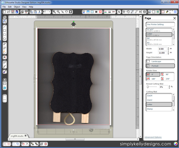 Use A Scanner For Perfect Sizing In Silhouette Studio