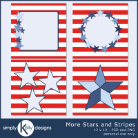 SimplyKellyDesigns_MoreStarsAndStripes_Templates_12x12