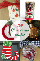 Holiday Craft Party Wrap Up: 25 Christmas Crafts