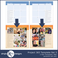 New Project 365 Template Set 5 and Bundle