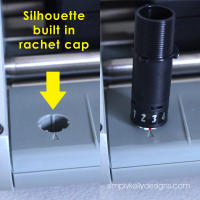 Change the Silhouette Blade Depth Without Rachet Cap