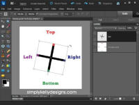 { Tutorial } Rotation Options In Photoshop Elements 10