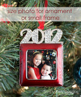 { PSE Tutorial } Size Photo For An Ornament or Small Frame