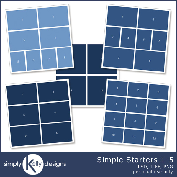 Simple Starters Template 1 to 5 - Click Image to Close